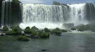 Iguassu Falls (HD Video) Stock Footage