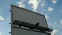 Billboard 1 - stock footage