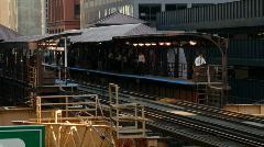 City Train 1b Stock Footage