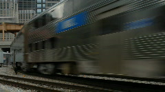 City Train 2 Stock Footage