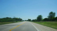 Driving 4 BLUR Stock Footage