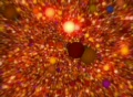 Red 3D Balls Animation Footage