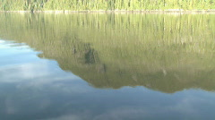 Coastline from boat Stock Footage