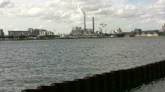 Amsterdam Sea Port Stock Footage