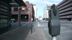 Parking meter Stock Footage