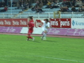 Stock Video Footage of Soccer (football) match