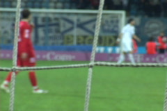 Soccer (football) match Stock Footage