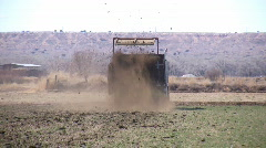HDV: Manure Spreader - stock footage