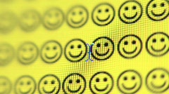 Smiley Face Stock Footage