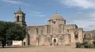 Mission San Jose side San Antonio Texas HD Stock Footage