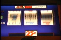 Slot machine Jackpot 5 Stock Footage