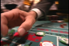 Craps 2 Stock Footage