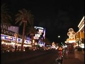 Timelapse Vegas street Stock Footage