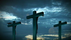 Relgion Cross Stock Footage