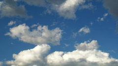 Beautiful clouds-HD Stock Footage