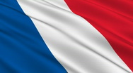 Stock Video Footage of Flag of France