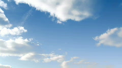 Time Lapse of Clouds - stock footage