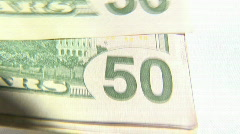 Making Money Stock Footage