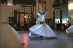 Whirling Dervishes 3 without music Stock Footage