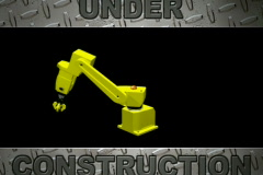 Robotic Under Construction Loopable ntsc Stock Footage