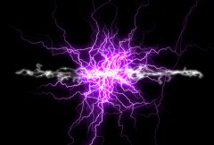 Plasma electric background Stock Footage
