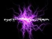 Plasma electric background Stock Footage