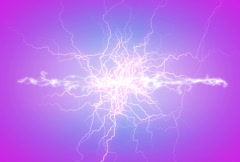 Plasma lightening background NTSC 2 Stock Footage