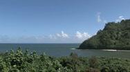 Maui tropical peninsula HD Stock Footage