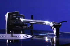 Turntable 1 - stock footage