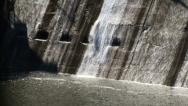 Water Falling Stock Footage