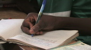Stock Video Footage of Handicapped girls attend a school for the handicapped in Kenya, Africa