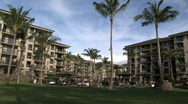 Hawaiian resort trpical Maui M HD Stock Footage
