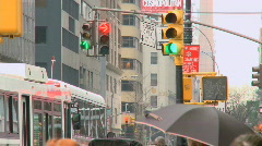 NYC Traffic Lights (3 of 3) - stock footage