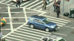 NYC Traffic (4 of 8) - stock footage