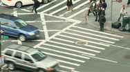 NYC Traffic (4 of 8) Stock Footage