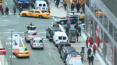 NYC Traffic (2 of 8) - stock footage