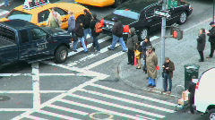 NYC Traffic (1 of 8) - stock footage