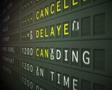 Flight Departures, PAL - stock footage
