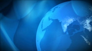 Stock Video Footage of News globe, NTSC