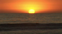 Sunset beach  - stock footage
