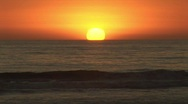 Sunset beach  Stock Footage