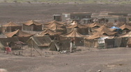 Stock Video Footage of A Somalia refugee camp in Yemen