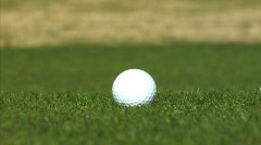 Golf Ball - stock footage