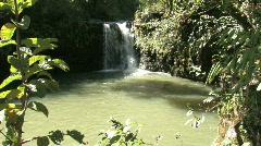 Maui waterfall rope HD Stock Footage