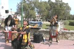 Incas Mallorca Spain Stock Footage