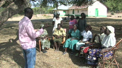 Adult Education in Kenya Stock Footage