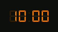 Countdown Clock 1, HD Stock Footage