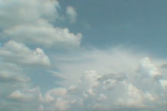 clouds06 dv - stock footage