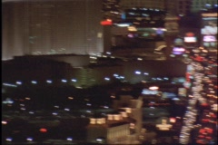 Glitchy Vegas pans/zooms Stock Footage