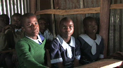 Students in Kenya Stock Footage